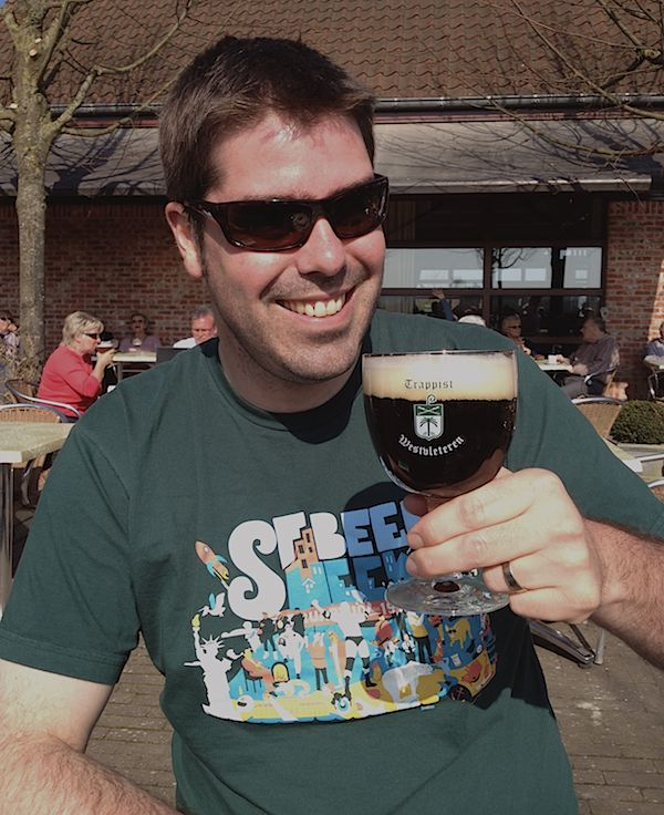 Rich Higgins at Westvleteren