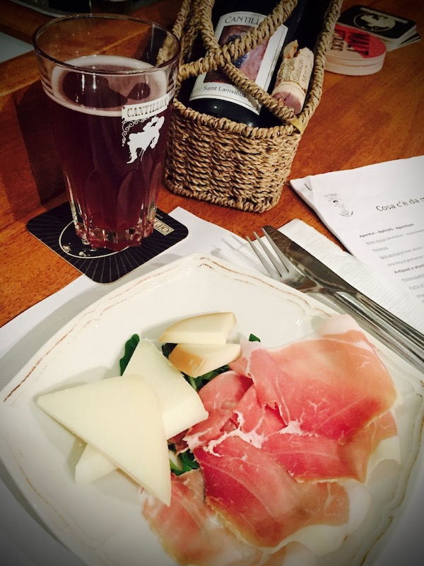Prosciutto and St. Lamvinus Photo