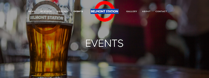 Photo: Belmont Station Events