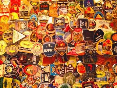 Photo: British Beer Labels