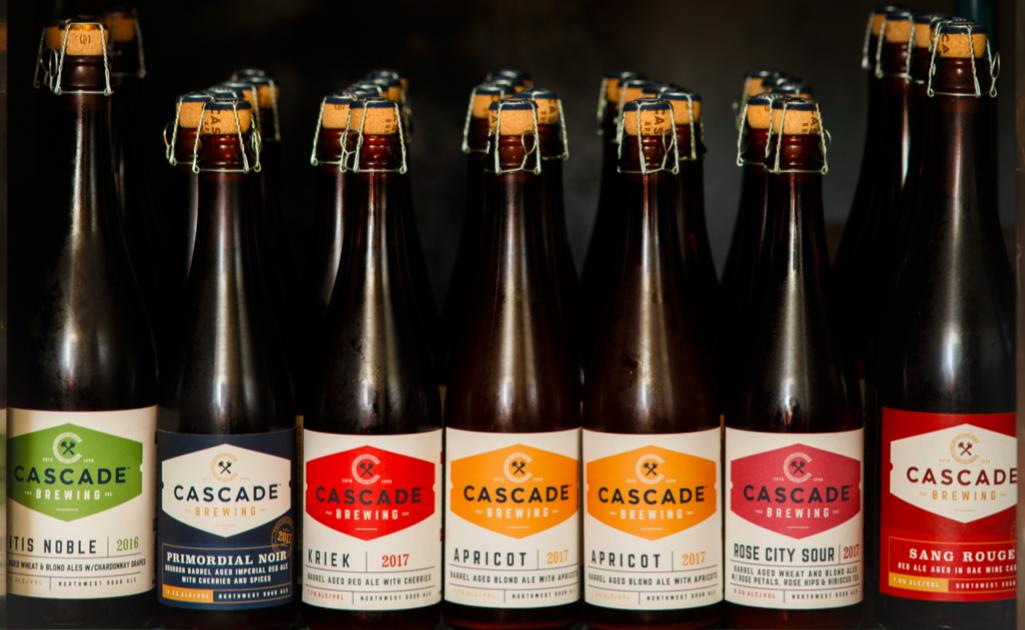 Photo: Cascade Beer Bottles