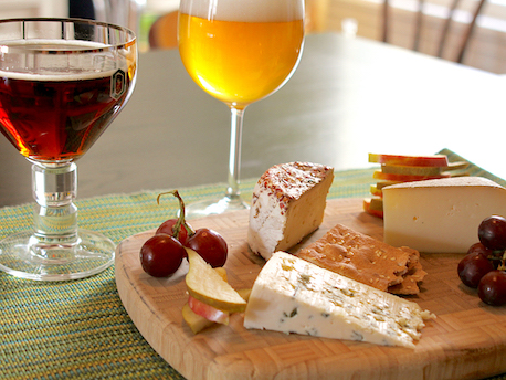 Photo: Cheese and Beer Pairing