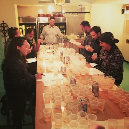Photo: Rich Teaching Beer Class