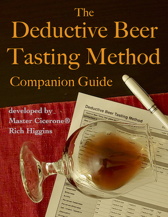 Deductive Beer Tasting Method - Companion Guide Cover