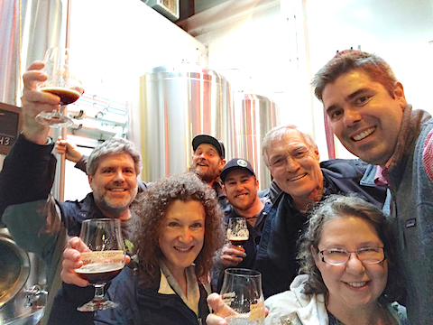 Photo: Group with 21A Brewers
