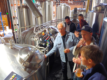 Photo: Brewhouse Tour