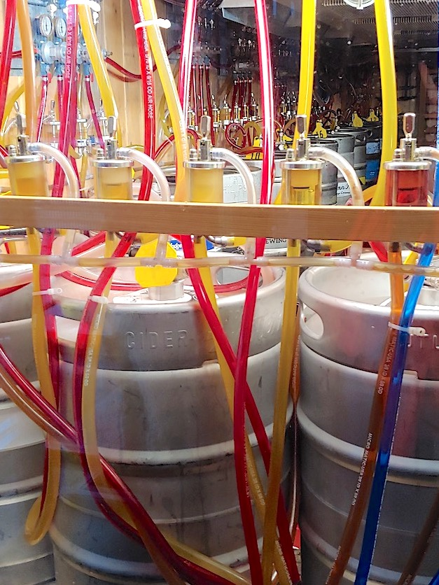 Photo: Kegs and FOBs