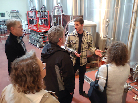 Photo: Brewery Tour