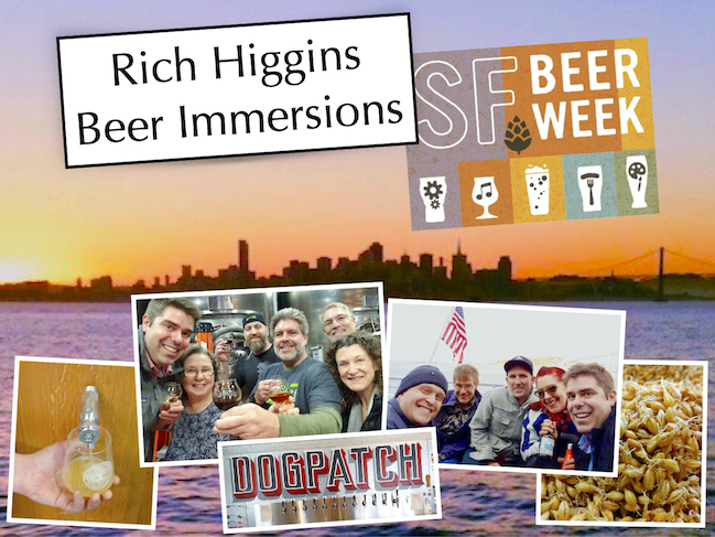 Rich Higgins Beer Immersions SFBW20 Photo Collage