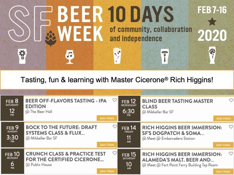 SF Beer Week Events Collage